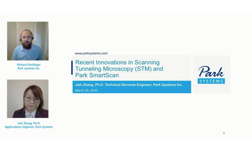 Recent Innovations in Scanning Tunneling Microscopy (STM) and Park SmartScan™