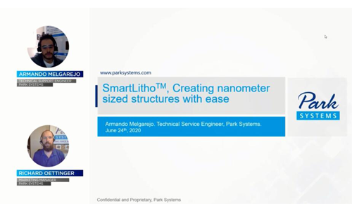 SmartLitho™ Creating nanometer sized structures with ease