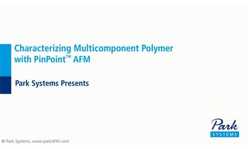 原子力显微镜应用PinPoint模式