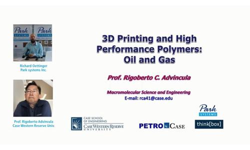 (youtube油管)3D打印和石油、天然气