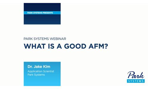 原子力显微镜的原理/ What is a good AFM