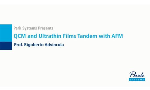 (Youtube油管)QCM and Ultrathin Films Tandem with AFM 石英晶体微量天平与原子力显微镜联用