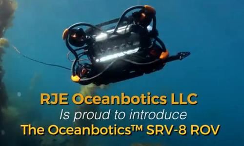 SRV-8 ROV水下机器人 为水下移动和工作制定了新标准