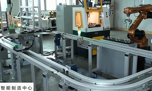 能制造实验实训中心--工业机器人基础教学工作站