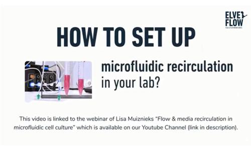 在您的实验室内,如何设置微流体或微流控的液体循环装置?