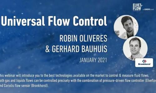 网络研讨会:无需针对每种液体进行校准的高精密通用流量控制方法