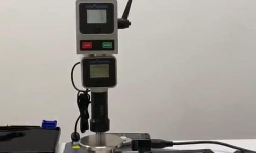 HPE Ⅲ-A自动支架标准块测试