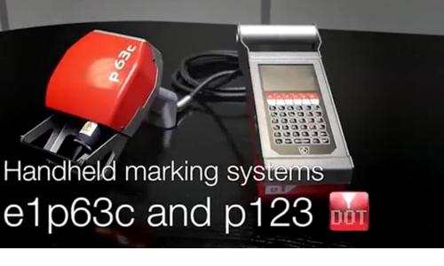 法国西刻e1系列 p63c,p123便携式打标机