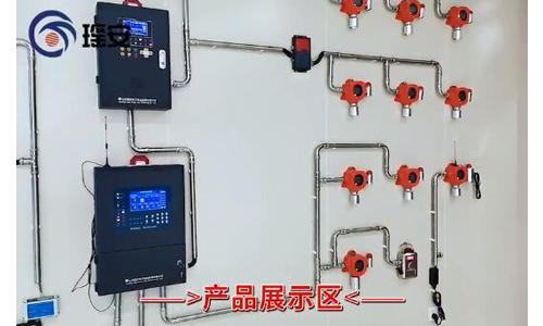 气体报警器厂家瑶安电子-新产品展示墙