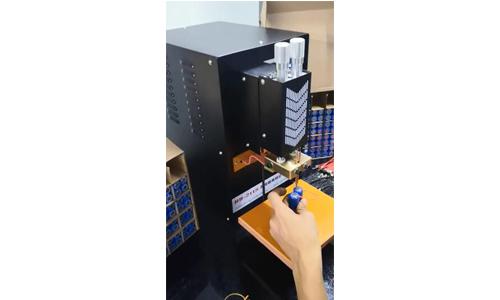 HD-2118微电脑高频逆变点焊机18650电池点焊机