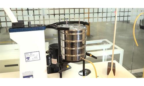 美国TylerRX-29-10振筛仪安装湿式筛视频