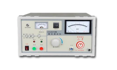 耐压测试仪分类