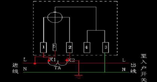 电能表的接线原理