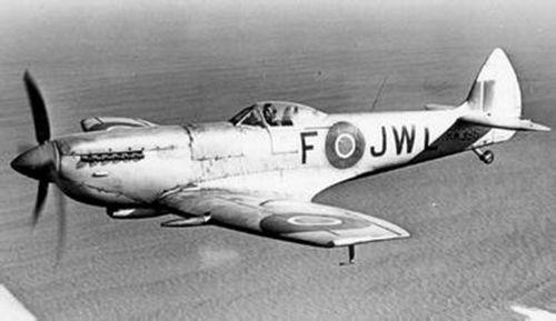 喷火战斗机是英国维克斯-超级马林公司设计师米歇尔以s系列竞速飞机