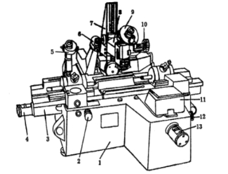 小型工具显微镜结构