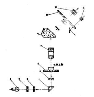 小型工具显微镜光路图
