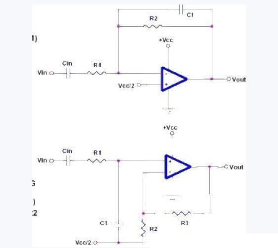 低通滤波器电路原理图