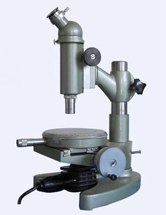 特别适用于录象磁头,大规模集成电路线宽以及其它精密零件的测试.