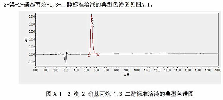 《化妆品中2-溴-2-硝基丙烷-1,3-二醇的测定 高效液相色谱法》