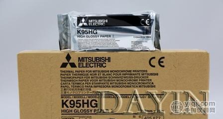 三菱K95HG高密高亮专用热敏纸