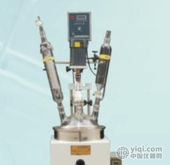 F-1L单层玻璃反应釜\单层玻璃反应器