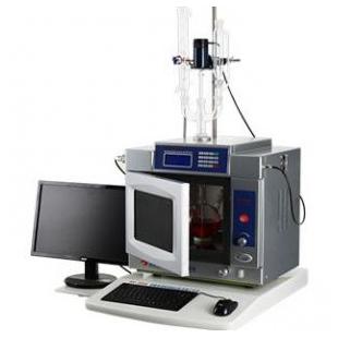 �{米氟�化�Ⅲ的微波固相氧化混蛋�原合成法