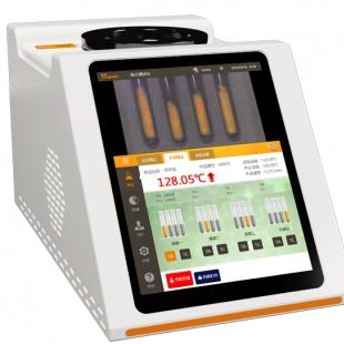 自动熔点仪法检测饶单宁乙酸的熔点