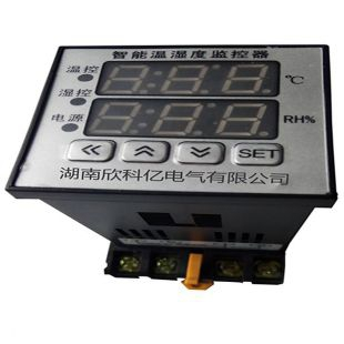 220V导轨式双排数显温湿度控制器温控器欣科亿电气火热促销中