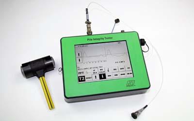 全新 PIT-QFV型低应变桩身完整性测试仪,低应变检测仪器,桩身完整性测试仪