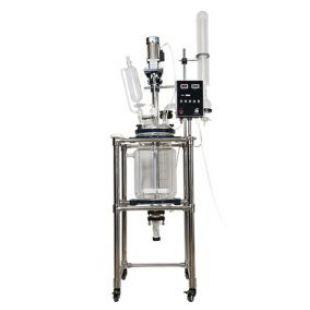 秋佐科技中型玻璃反应釜10L20L30L50L